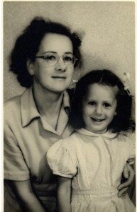 Joyce and Susan 1950